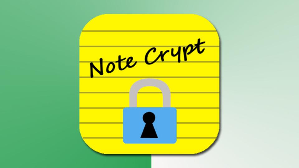 スマホでも億劫がらずにパスワードを管理するための『Note Crypt』