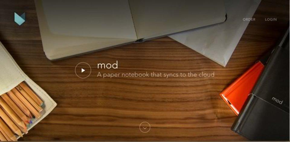 使い終わったらデジタル化してくれるモレスキン風ノート「Mod Notebooks」
