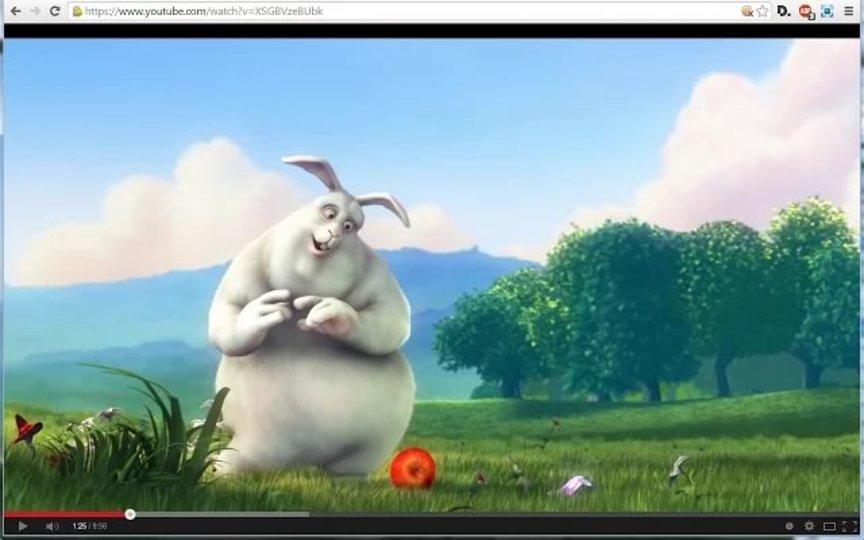動画や画像をワンクリックでフルスクリーン表示できるChrome拡張機能「Fullscreen Anything」