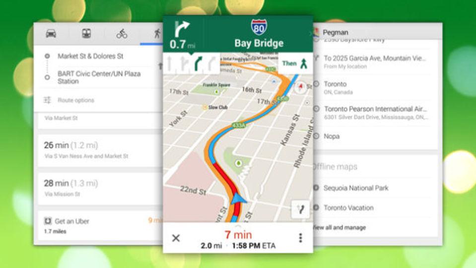『Google Maps』アップデート:行く前の下調べがもっとやりやすくなった