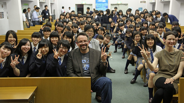 EvernoteのCEOが品川女子学院の生徒に教えた、人生に役立つ3つの教訓