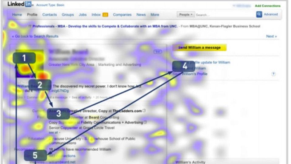 履歴書やLinkedInをリクルーターが見る導線:研究結果