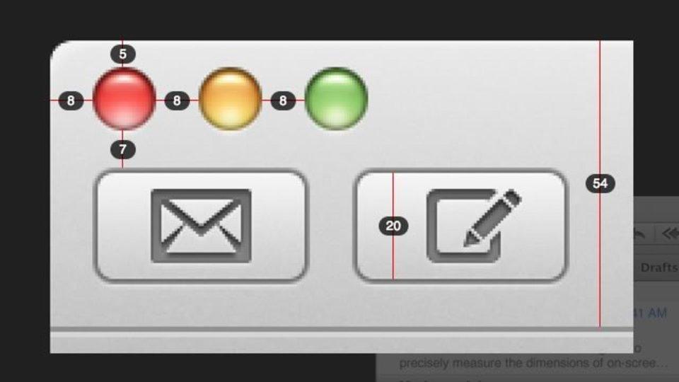 画面内の要素をピクセル単位で測定できるツール「Pixel Winch」