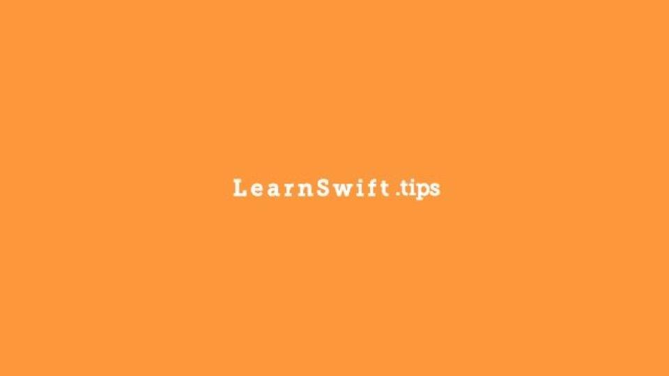 Swiftの学習に役立つ情報をまとめたサイト「Learn Swift」