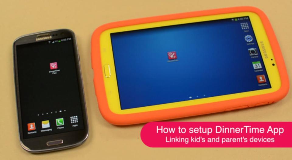 子どもの「ながら習慣」を直してくれるアプリ「DinnerTime」