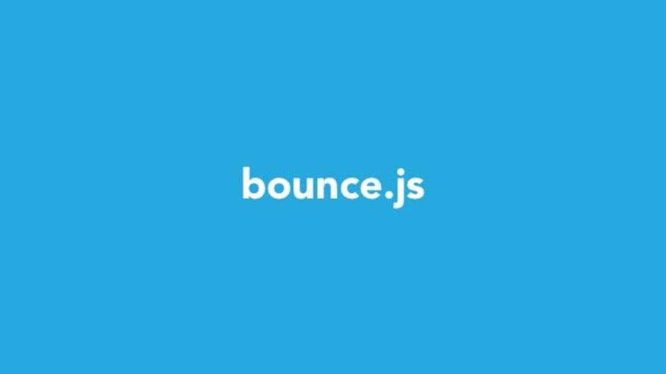 CSS3でバウンドするアニメーションが簡単に作成できるジェネレータ「Bounce.js」