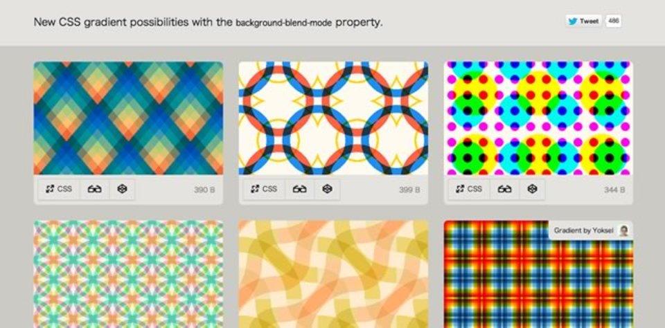 コピペで使える! CSSで凝った背景を作るサンプル集