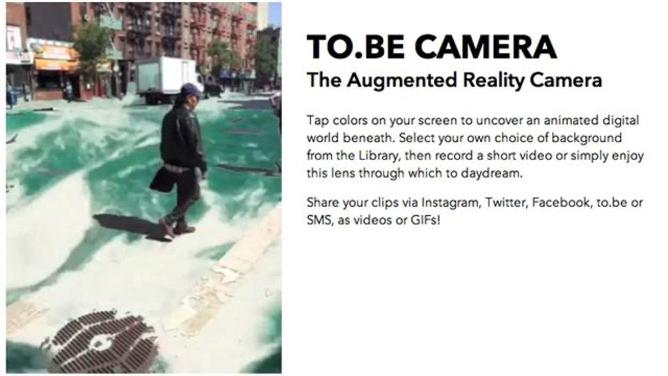 おもしろ動画を手軽に! 指定した色だけを透明にして撮影できるアプリ『to.be Camera』