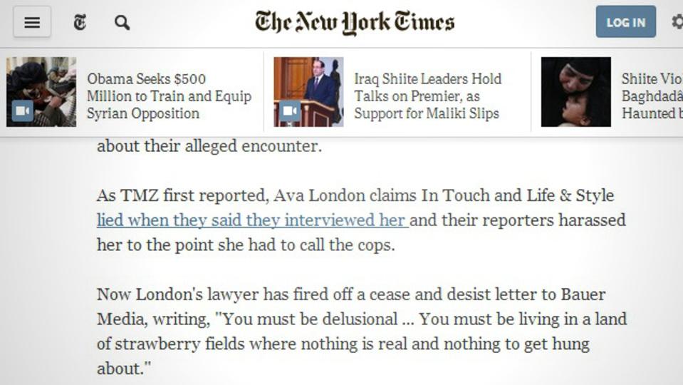 こっそり読みたいページを「New York Times」に見せかけてくれる『Timesify』