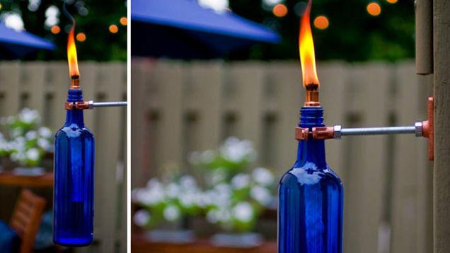 1 diy for Diy beer bottle tiki torches