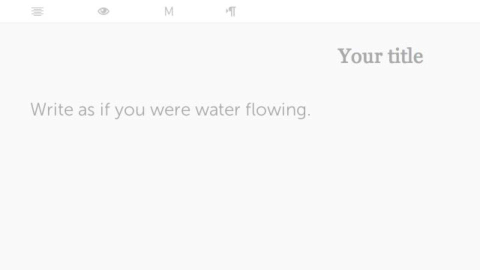 ネットテキストエディタ「Escriba」は、シンプルで使い勝手が良く、必要なものだけそろってる
