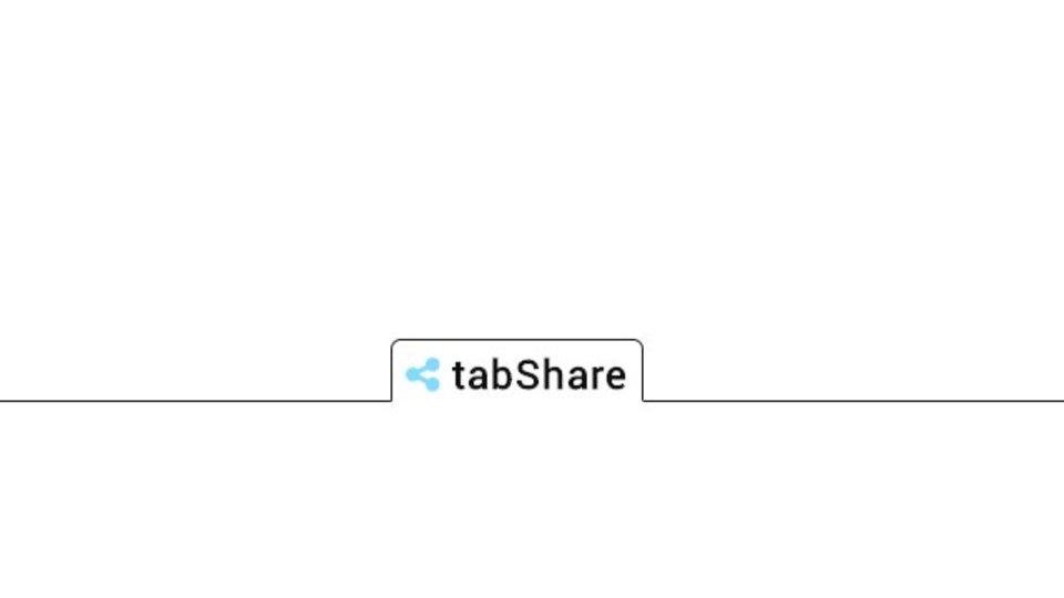 現在開いているタブをワンクリックで共有できるサービス「tabShare」