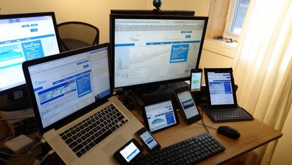 生産性を向上させるには、目的ごとにデバイスを使い分けるといい