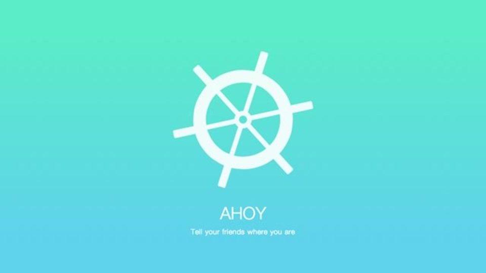 「ここにいるよ」を送り合えるアプリ『AHOY』