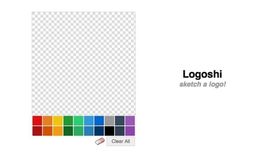 スケッチした絵からロゴを作成できるサービス「Logoshi」