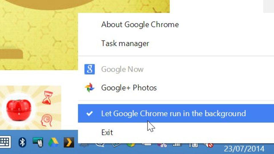 バッテリーにも影響あり...閉じた後でもバックグラウンドで起動するGoogle Chromeを終了するには