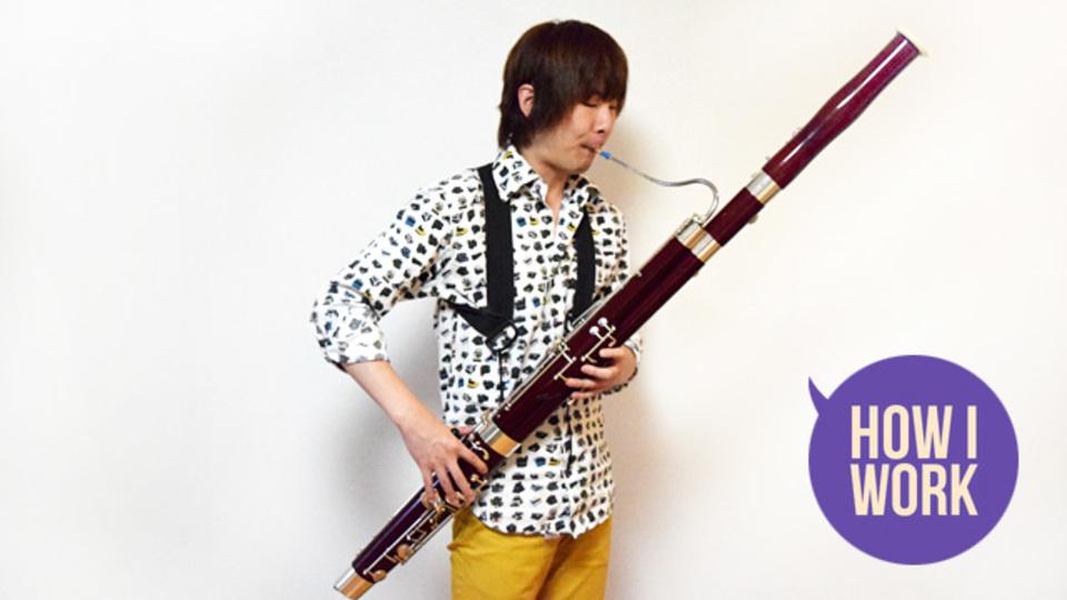 出る杭は「打たれない」:日本で唯一の現代音楽ファゴット奏者、中川日出鷹がパリ留学で得たもの