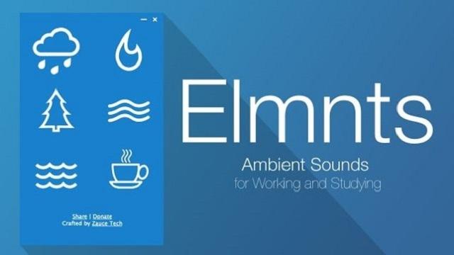 集中力ブースト用。オフラインでも環境音を再生できるChrome拡張機能『Elmnts』