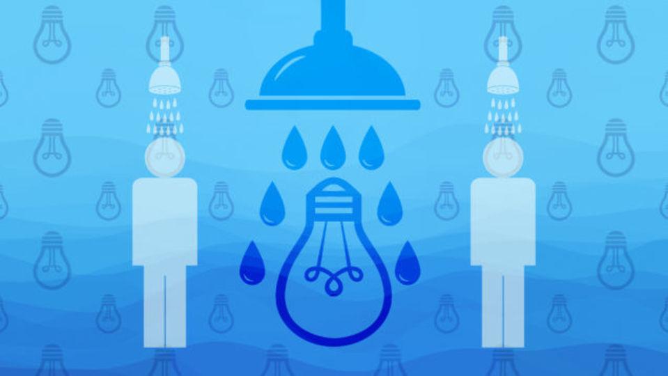 何か思いつくのは決まってシャワーの中。これって別の時にできないの?