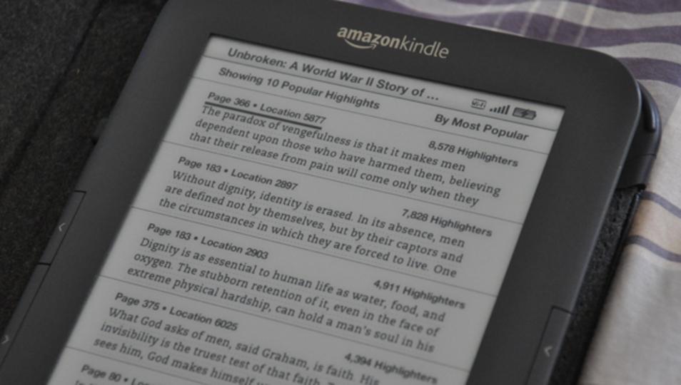 「ポピュラー・ハイライト」で退屈そうなKindle本を見抜くには
