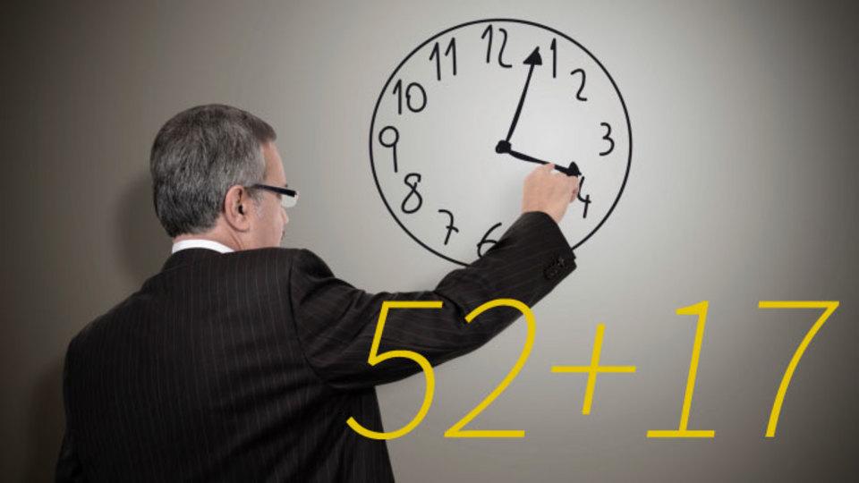 生産性向上に最適な時間配分は「52分働いたら17分休む」