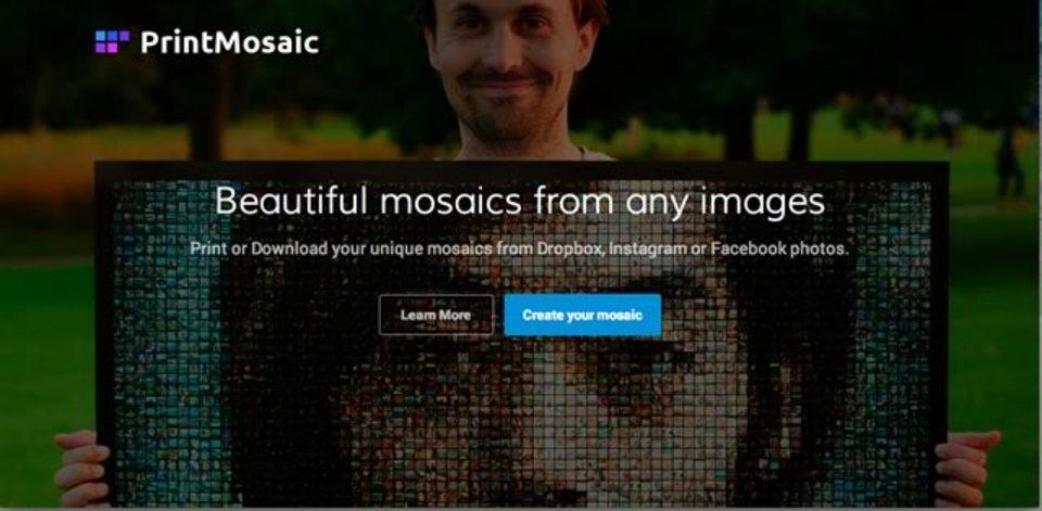 指定した写真でモザイクアートが作れるサイト「PrintMosaic」