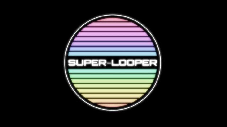 画面をタッチすると音楽を奏でられ、シェアできるサイト「SUPER LOOPER」