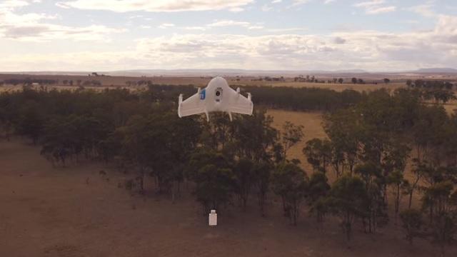 Amazonとの技術競争? Googleの無人機プロジェクト「Project Wing」がテスト飛行を実施