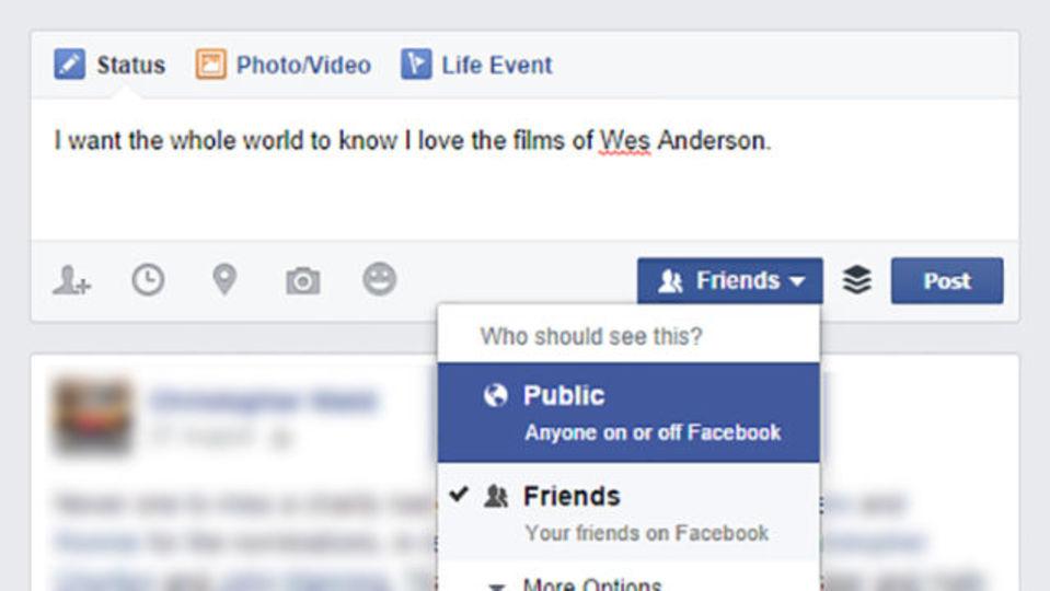 Facebookの投稿をあえて「一般公開」にしたほうがいい理由