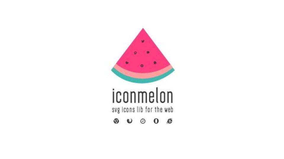 SVG形式のアイコンをまとめてダウンロードできるサイト「iconmelon」