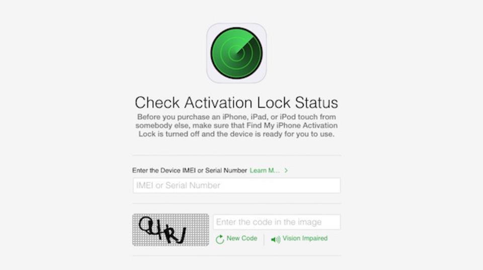 中古のiPhone/iPadを買ったりもらったりする前にチェックすべきApple純正サービス