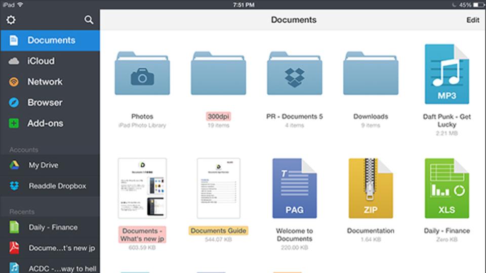 万能っぷりが素晴らしいアプリ「Documents 5」でできる10のこと