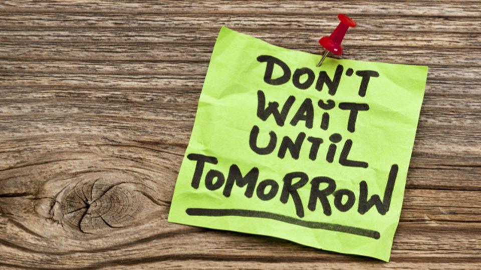 ついつい「後でやろう」となってしまう原因と効果的な防止策