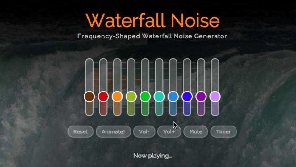 「背景雑音」を個人の聴力別にカスタマイズできる『myNoise』