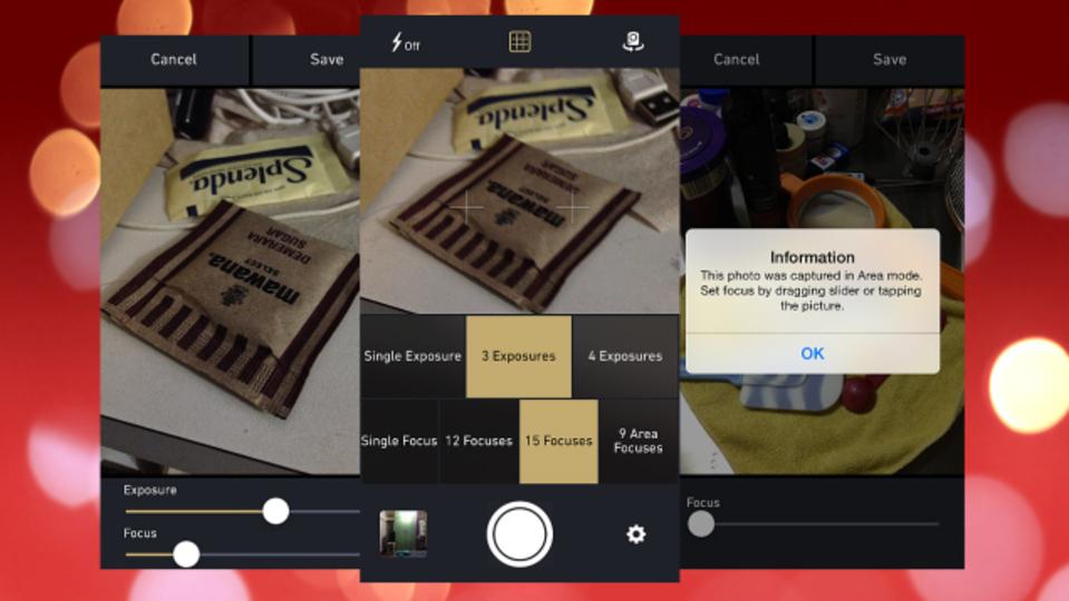 撮影後にフォーカスと露出を調整できる次世代カメラアプリ『MultiCam』