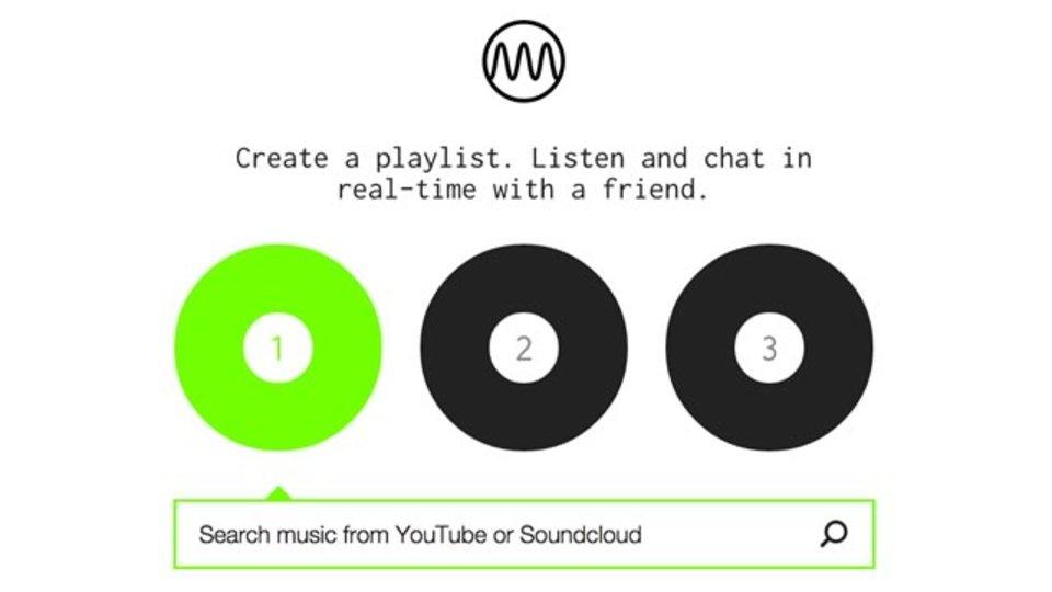 友人とYouTube/Sound Cloudの音源を同じタイミングで聴けるサイト「Milkshake」