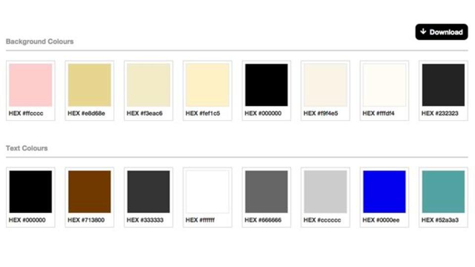 指定したウェブサイトで使われている配色・フォントを抽出してくれるサイト「Stylify Me」
