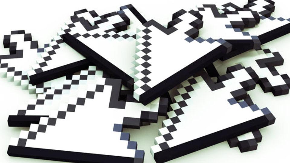 世界中のマウスカーソルと協力して進める迷路ゲーム「Cursors」