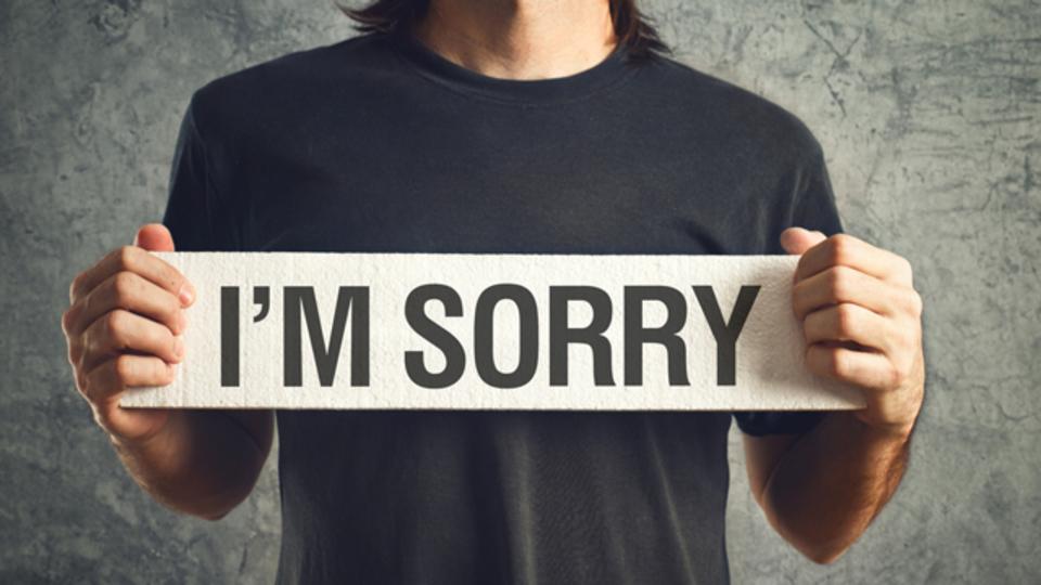 どうしても謝らないといけない時に「心をいたわる」ちょっとしたコツ