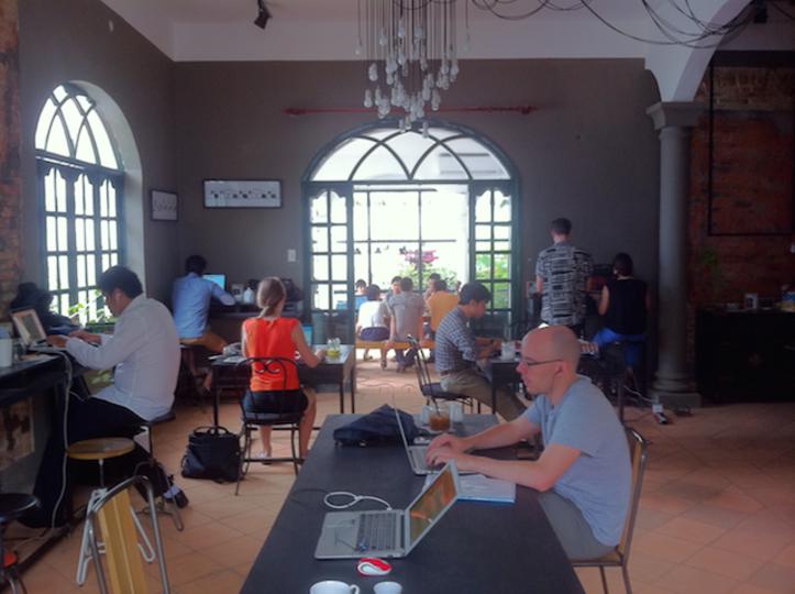 世界のコワーキングスペース:ベトナム・ホーチミン「Work Saigon」