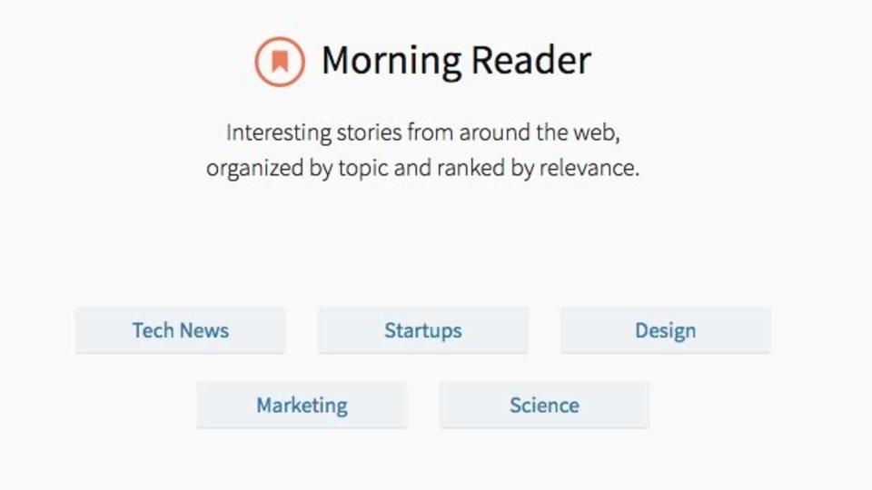 話題になっている海外ニュースを人気順にチェックできるサイト「Morning Reader」