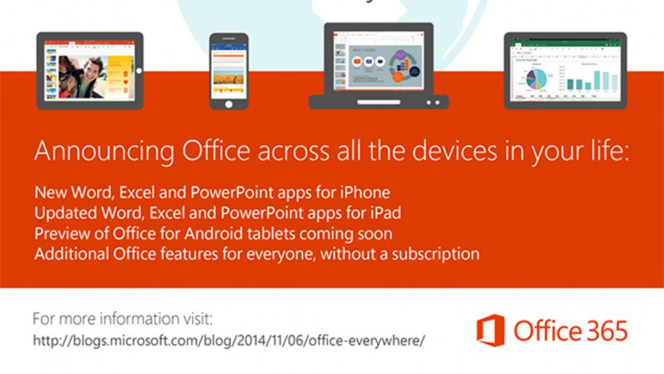 即ダウンロード決定!iPhone向けの純正Officeアプリがついに登場