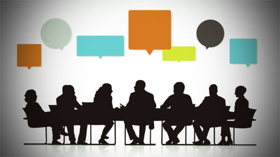 未来の会議では「コグニティブ・コンピューター」が進行役を務め、最適解を導き出してくれる
