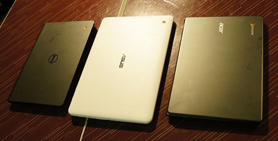 日本で買えるChromebook、3機種を使い比べてみたら...