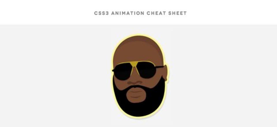 CSS3でHTMLの要素に滑らかなアニメーションをつけるためのチートシート