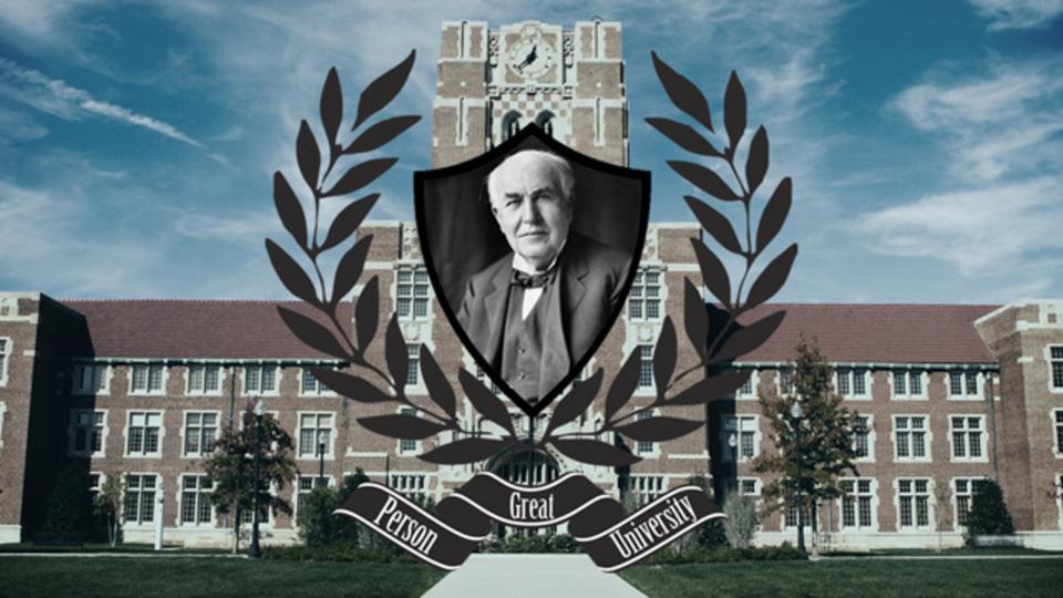 トーマス・エジソン先生の講義「私が成功した3つの理由」~偉人大学シリーズ(1)