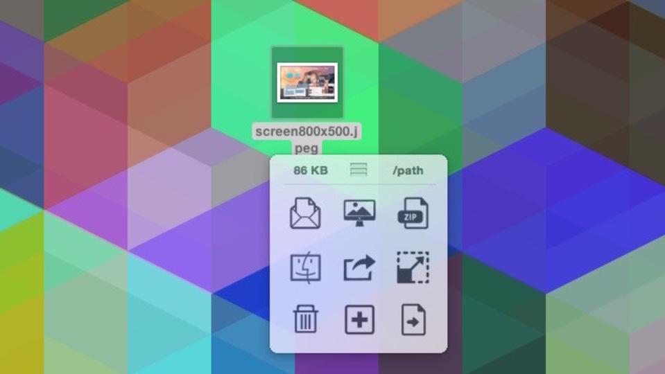 サイズ変更、圧縮・変換など画像管理がドラッグ&ドロップで短縮できる『Filepane』