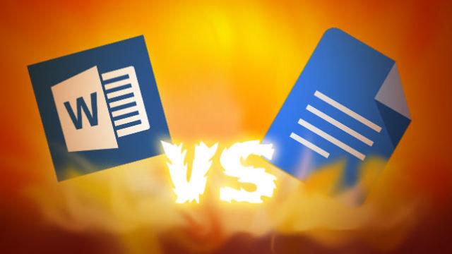 モバイルオフィス対決!Microsoft Office vs. Googleドキュメント