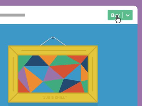 Tumblrに「購入」や「支援」ができるボタンが登場