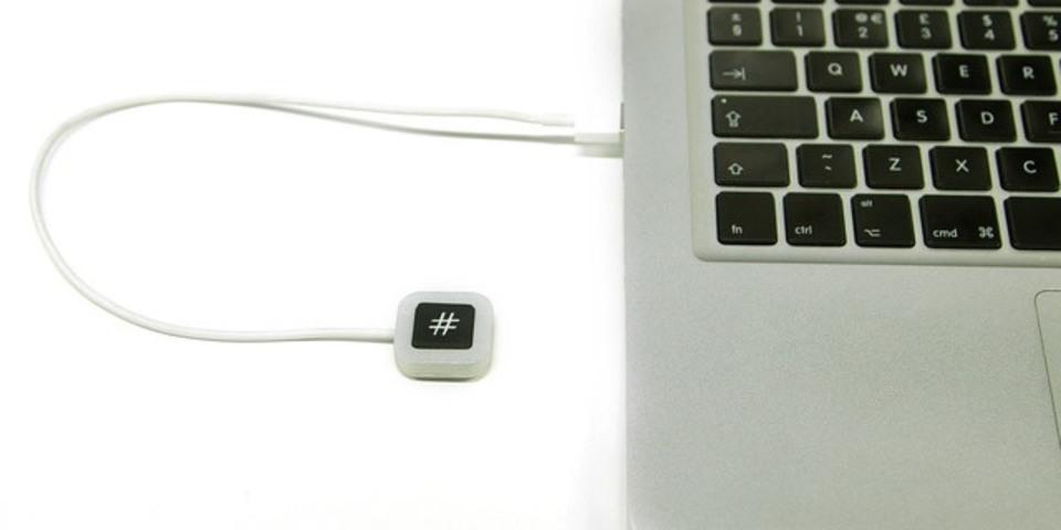 ハッシュタグが捗る「#」だけのキーボード現る